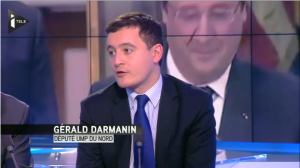 Photo Gérald Darmanin_Itélé_12022014